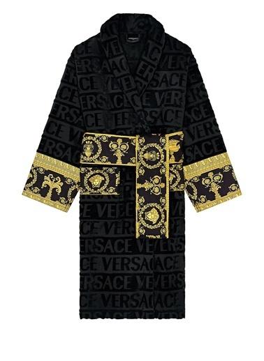 Versace Bornoz Siyah